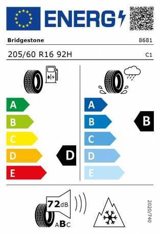 BMW Reifen Bridgestone Blizzak LM-001 RFT 205 60 R16 92