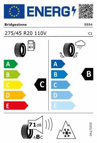 BMW Reifen idgestone Blizzak LM 001 RSC 275 45 R20 110V XL