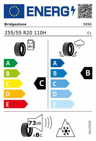 BMW Reifen idgestone-Blizzak LM 001 RSC 255 55 R20 110H