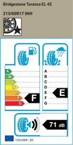 BMW Reifen Bridgestone Turanza EL 42