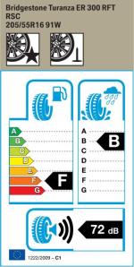 BMW Reifen Bridgestone Turanza ER 300 RFT