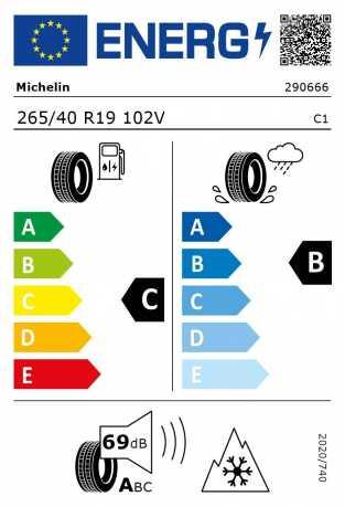 BMW Reifen chelin Pilot Alpin 5 265 40 R19 102V