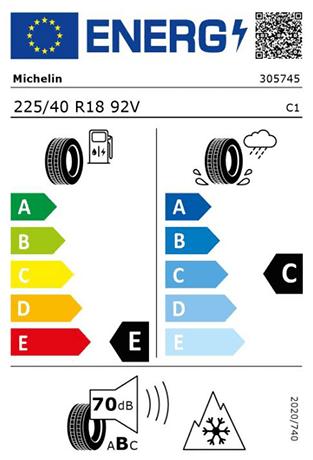 BMW Reifen Michelin Pilot Alpin PA4 225-40 R18 W