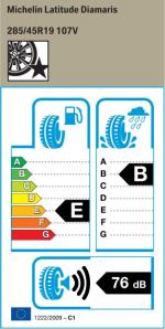 BMW Reifen Michelin Latitude Diamaris