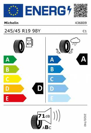 BMW Reifen Michelin Primacy 3 ZP 245-45 R19 98Y S