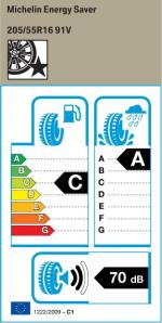 BMW Reifen Michelin Energy Saver 205-55R16 91V EK