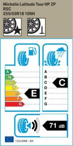 BMW Reifen Michelin Latitude Tour HP ZP
