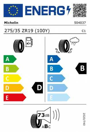 BMW Reifen Michelin Pilot Super Sport 275 35 R19 100Y