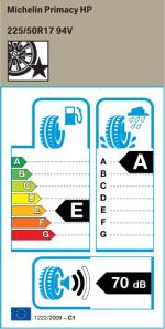 BMW Reifen Michelin Primacy HP
