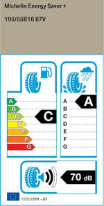 BMW Reifen chelin Energy Saver+ 195 55 R16 87V