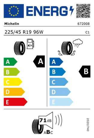 BMW Reifen chelin Pilot Sport 4 225 45 R19 96W
