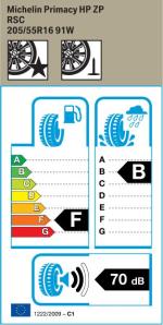 BMW Reifen Michelin Primacy HP ZP