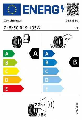 BMW Reifen ntinental EcoContact 6 245 50 R19 105W