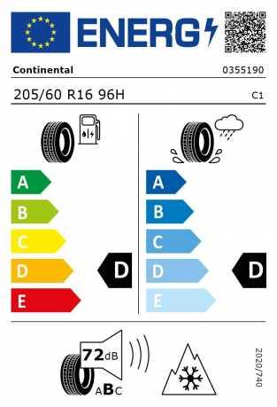 BMW Reifen ntinental Winter Contact TS830P RSC 205 60 R16 96H