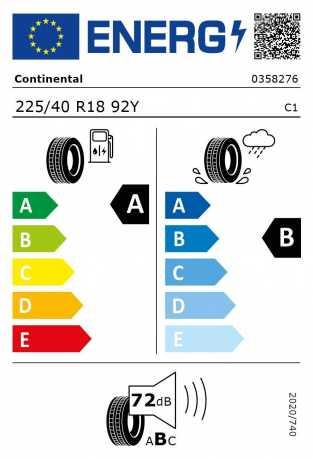 BMW Reifen ntinental EcoContact 6 225 40 R18 92Y