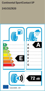 BMW Reifen ort Contact 5P FR  275 30 R20