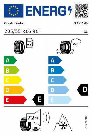 BMW Reifen Continental WinterContact TS 830 P SSR 205-55 R16 W