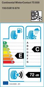BMW Reifen ntinental WinterContact TS850 195 55 R16 87H