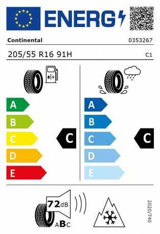 BMW Reifen Continental WinterContact TS 850 205-55 R16 W