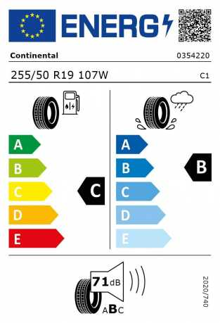 BMW Reifen Continental SportContact 5 SUV SSR 255-50 R19 107W S