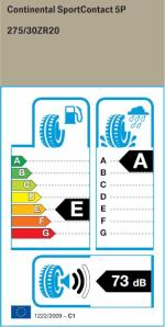 BMW Reifen ort Contact 5P FR 245 35 R20