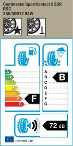 BMW Reifen ntinental SportContact 2 RSC 255 40 R17 94W