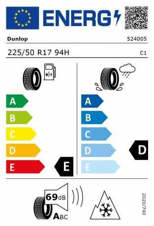 BMW Reifen Dunlop SP Winter Sport 3D 225-50 R17 W
