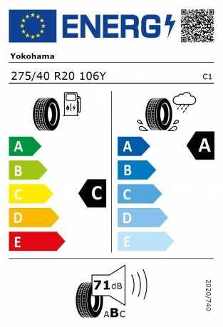 BMW Reifen kohama Advan Sport V105 75 40 R20 106Y
