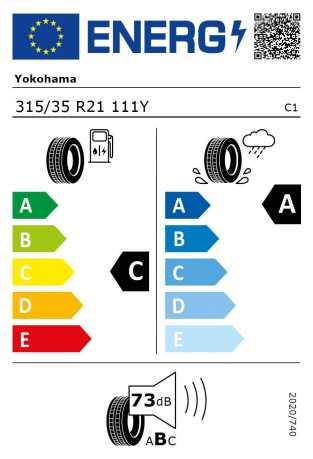 BMW Reifen kohama Advan Sport V105 315 35 R21 111Y