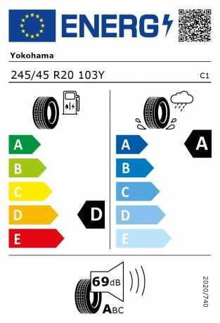 BMW Reifen kohama Advan Sport V105 245 45 R20 103Y
