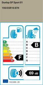 BMW Reifen Dunlop SP Sport 01 195-55 R16 EK