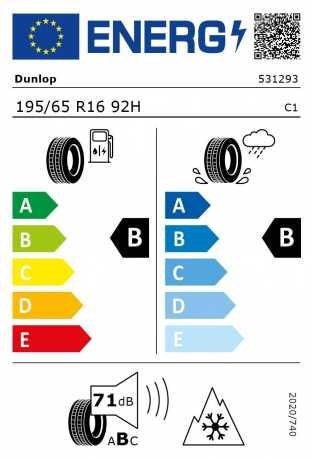 BMW Reifen P WinterSport 4D 195 65 R16 92H