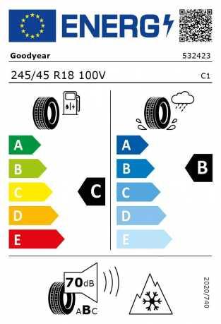 BMW Reifen odyear Ultra Grip 8 Performance MOE RSC 245 45 R18 100V