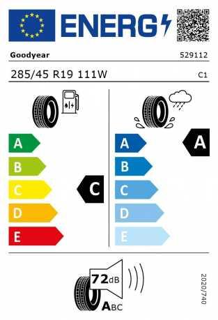 BMW Reifen Goodyear Eagle F1 Asymmetric SUV 4X4 ROF 285-45 R19 111W S
