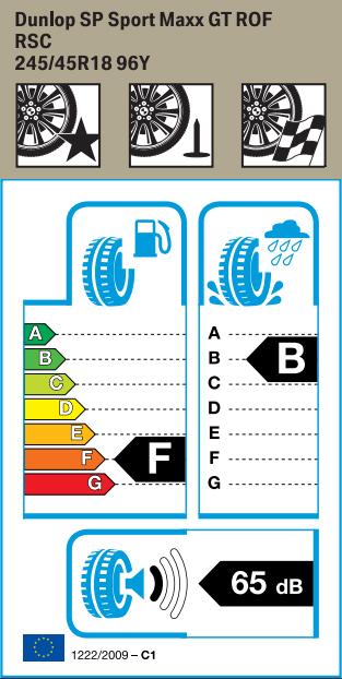 BMW Reifen nlop SP Sport Maxx GT RSC 245 45 R18 96Y