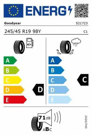 BMW Reifen odyear Excellence RSC 245 45 R19 98Y