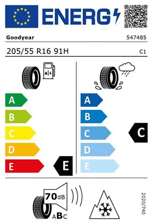 BMW Reifen odyear Ultra Grip 7+ 205 55 R16 91H