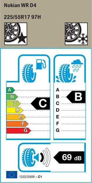 BMW Reifen kian WR D4 225 55 R17 97H