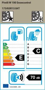 BMW Reifen Pirelli W 190 Snowcontrol 175-65 R15 W