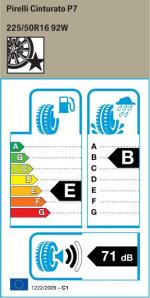 BMW Reifen Pirelli Cinturato P7
