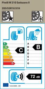 BMW Reifen Pirelli W 210 Sottozero II 205-55 R16 W
