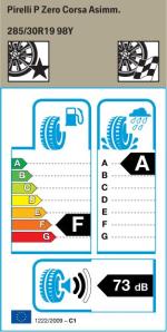 BMW Reifen relli P Zero Corsa Asimm. 285 30 R19 98Y