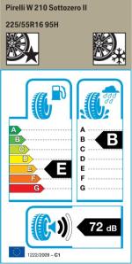 BMW Reifen Pirelli W 210 Sottozero II 225-55 R16 W