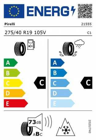BMW Reifen Pirelli W 240 Sottozero II r-f  275-40 R19 W