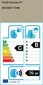 BMW Reifen Pirelli Cinturato P7 205-50R17 93W EK