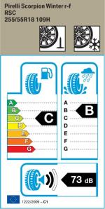 BMW Reifen Pirelli Scorpion Winter r-f 255-55 R18 W