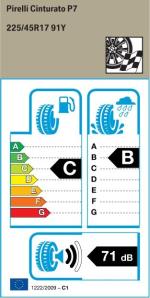 BMW Reifen Cinturato P7 225 45 R17 91Y