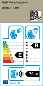 BMW Reifen 210 Sotto Zero 3  225 45 R18 95V