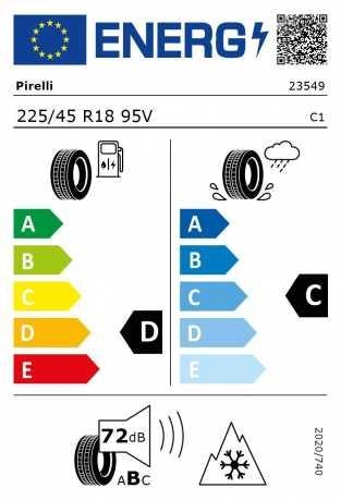 BMW Reifen Pirelli W 240 Sottozero II r-f 225-45 R18 W
