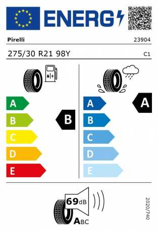 BMW Reifen relli P Zero RSC 275 30 R21 98Y XL